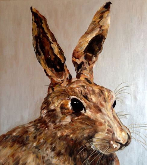 hare-cropped